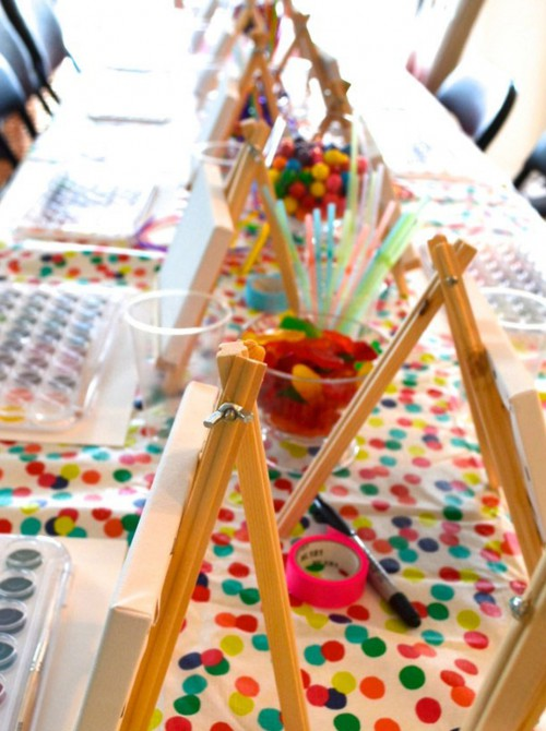 Arty Party - Birthday Party Theme | Geelong Art Classes