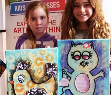 Holiday Club Classes - Geelong Art Classes
